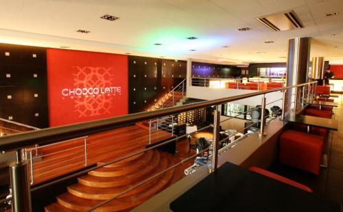 The lobby or reception area at Hotel Tahiti Nui