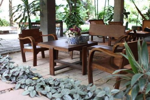 A restaurant or other place to eat at Baan Tye Wang Guesthouse