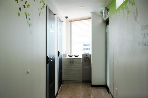 A bathroom at Myeongdong Ecohouse
