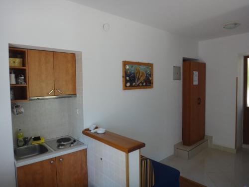 A kitchen or kitchenette at Laguna Apartment