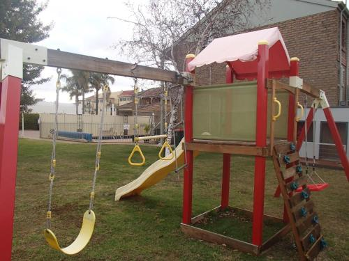 Children's play area at City Colonial Motor Inn