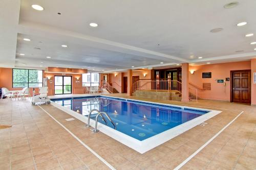 The swimming pool at or near Homewood Suites by Hilton Stratford