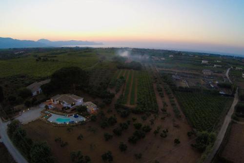 Vista aerea di Villa 2 Pini