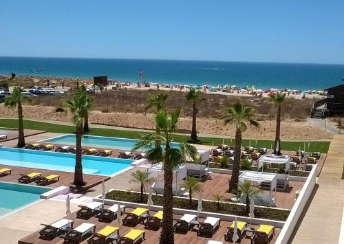 A view of the pool at Pestana Alvor South Beach Premium Suite Hotel or nearby