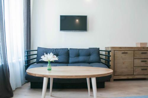 A seating area at Cluj Napoca Apartments