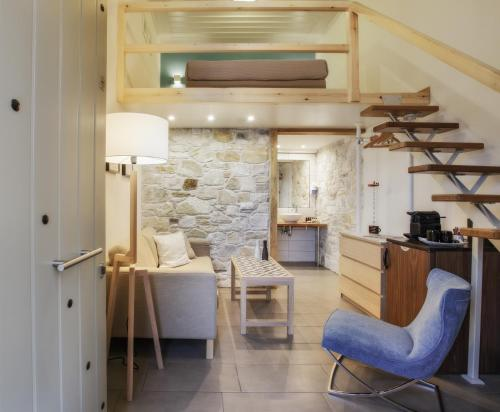 A kitchen or kitchenette at Olga