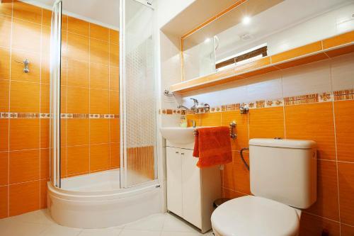 A bathroom at Chata Mojtín