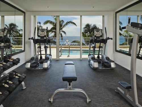 The fitness center and/or fitness facilities at Royal Blues Hotel