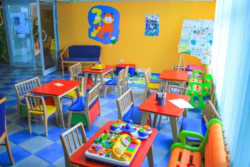 Laste klubi majutusasutuses Hotel Montenegro