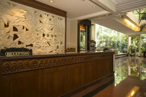 The lobby or reception area at Parigata Resorts and Spa