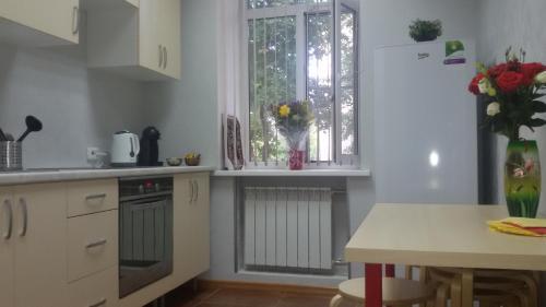 A kitchen or kitchenette at Vagon