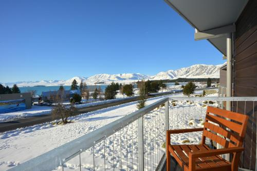 A balcony or terrace at Peppers Bluewater Resort