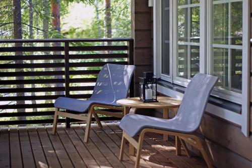 Балкон или терраса в Lekotti Vacation Club
