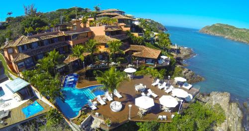 A bird's-eye view of Hotel Ferradura Private