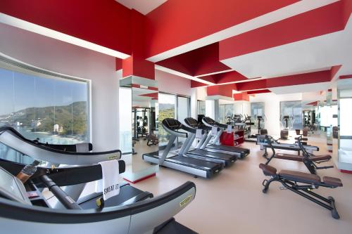 The fitness center and/or fitness facilities at Hotel Mousai - Adults Only