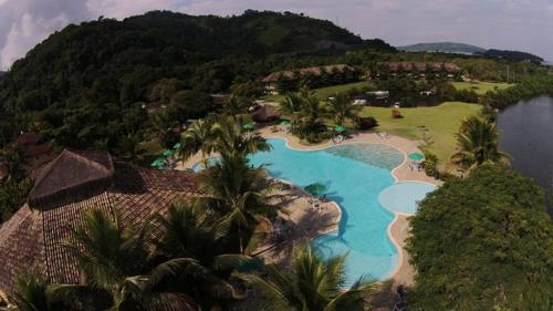 A view of the pool at Hotel do Bosque ECO Resort or nearby