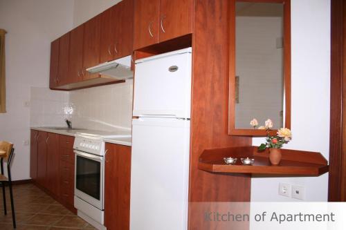Cucina o angolo cottura di Eye Q Resort