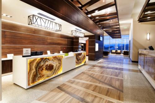 The lobby or reception area at Hilton Garden Inn San Jose La Sabana, Costa Rica