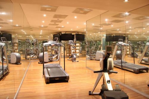 Het fitnesscentrum en/of fitnessfaciliteiten van Bastion Hotel Amsterdam Amstel
