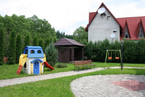 Children's play area at Morozko