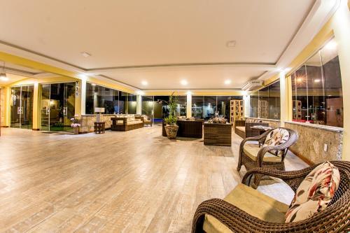 The lobby or reception area at Pousada Eclipse Paraty