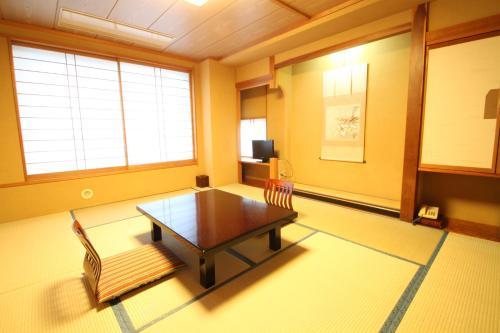 Dining area in the ryokan