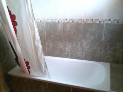 A bathroom at Apartamentos Turísticos Edificio del Pino