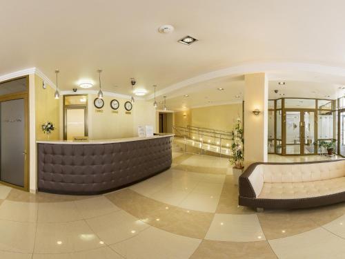 Лобби или стойка регистрации в Отель Воробьевы Горы
