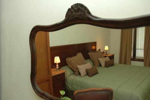 Кровать или кровати в номере Como era Antes
