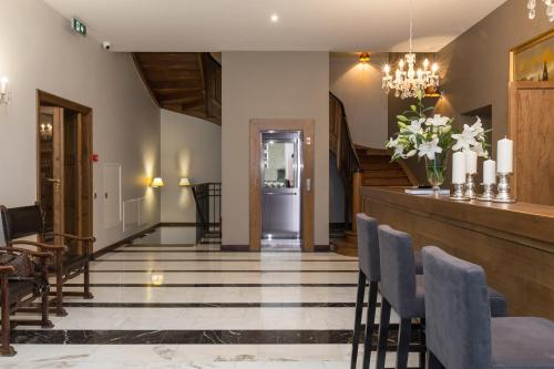 The lobby or reception area at Grottger Luxury Boutique Hotel City