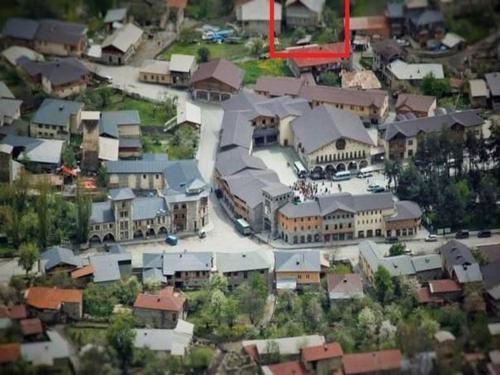 Widok z lotu ptaka na obiekt Dodo Japaridze Guesthouse