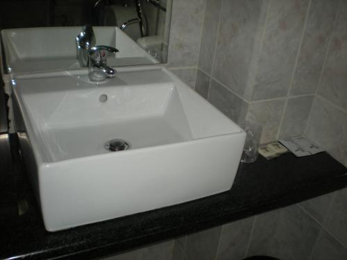 Ванная комната в Hotel Dom Joao IV