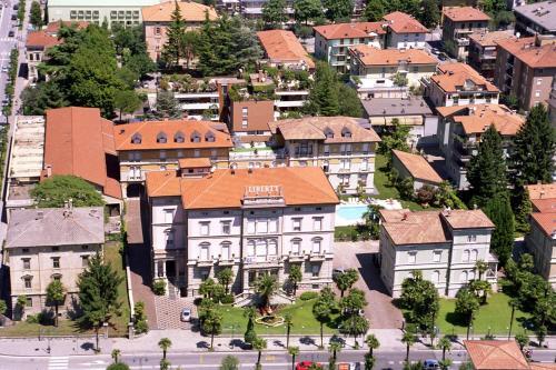 Vista aerea di Grand Hotel Liberty