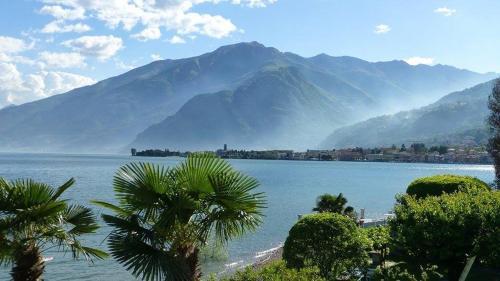 Vue générale sur la montagne ou vue sur la montagne depuis l'appart'hôtel