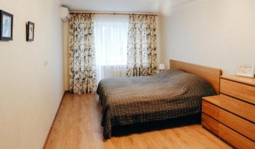 Кровать или кровати в номере LysvaHotel Apartment