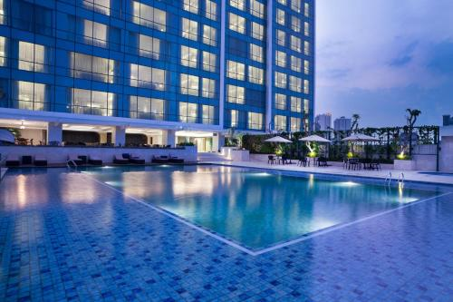 The swimming pool at or close to Crowne Plaza Bandung, an IHG Hotel