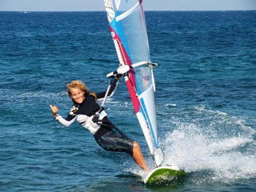 Windsurfing at the hotel or nearby
