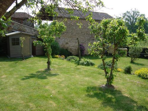 A garden outside Demeure du Castel