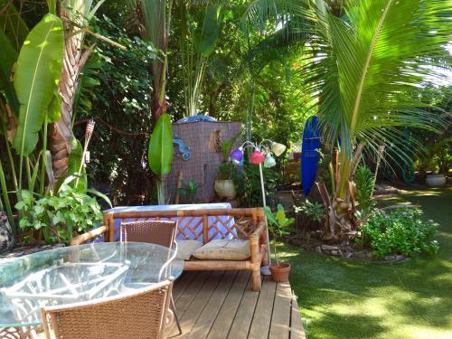 The swimming pool at or near Tiki Beach Hostel