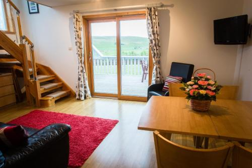 A seating area at Abateg Self Catering