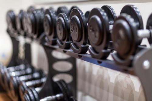 Gimnasio o instalaciones de fitness de Soria Moria Hotell