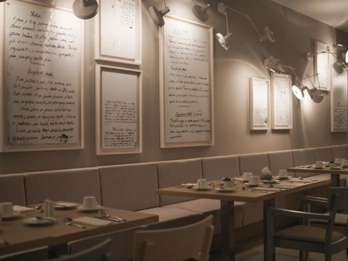 A restaurant or other place to eat at Hotel Kompas