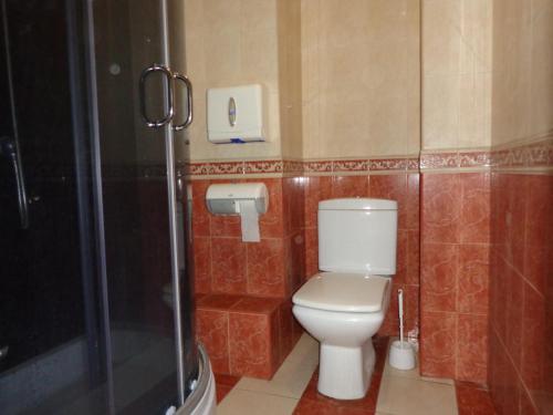 Ванная комната в Хостел Балконский