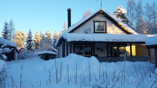 Villa Majringen under vintern