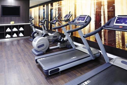 Palestra o centro fitness di Novotel London Blackfriars
