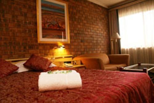 Гостиная зона в Countryman Motor Inn