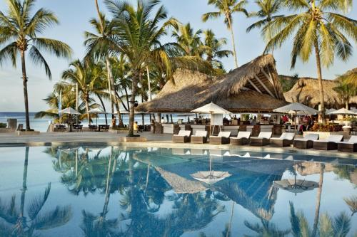 The swimming pool at or near Viva Wyndham Dominicus Beach - All-Inclusive Resort
