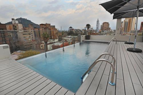 The swimming pool at or near Hotel Cumbres Lastarria