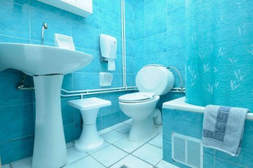 A bathroom at Konstantinoupolis