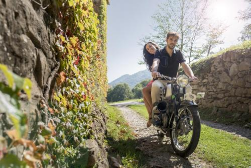 Vélo sur le terrain de l'établissement Hotel Mas la Ferreria ou dans les environs